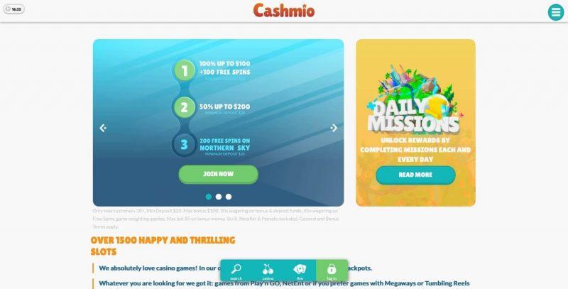 cashmio casino avis