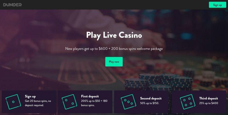dunder casino avis