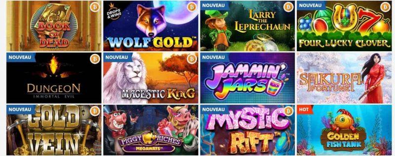 Jeux casino playamo