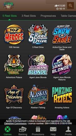 yukongold casino jeux