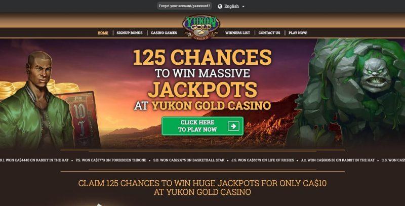 yukongold casino avis