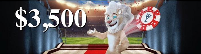 Bonus White Lion Casino