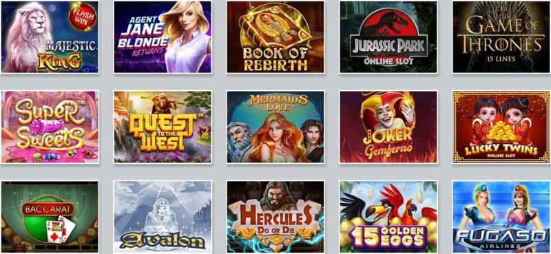 Jeux White Lion Casino