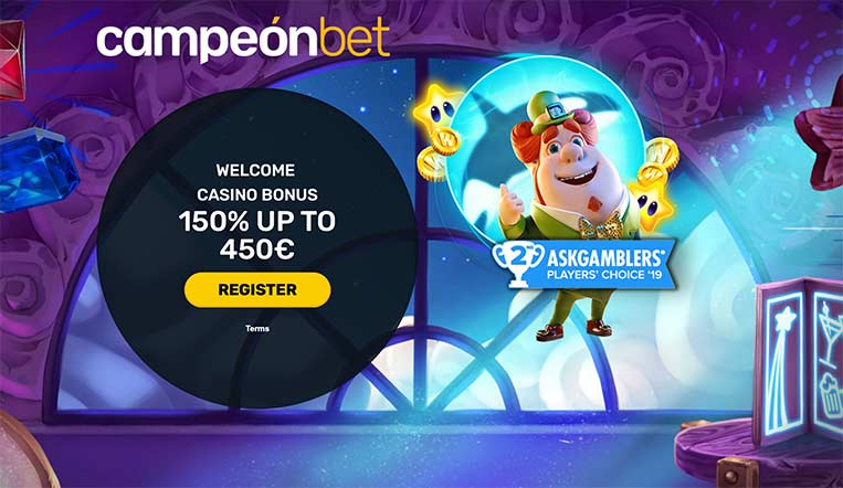 L'interface de CampeonBet