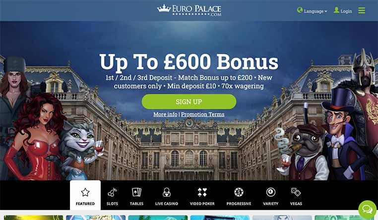 interface Euro Palace
