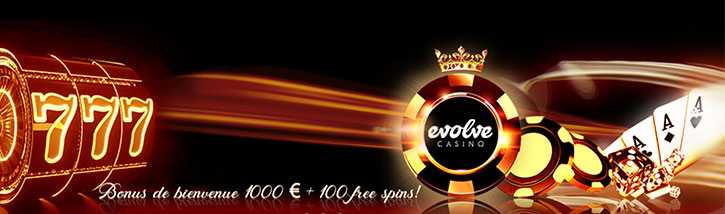 Bonus Evolve Casino
