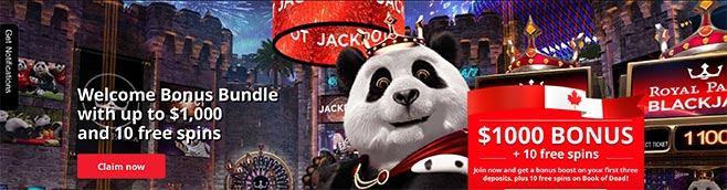 Bonus Royal Panda