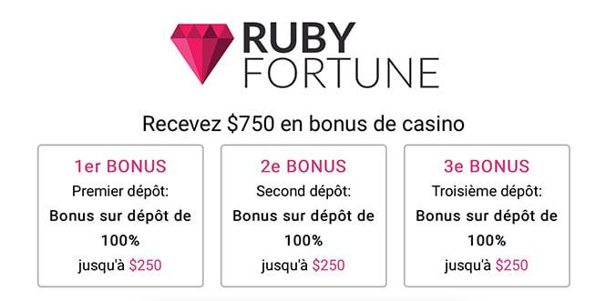 Bonus Ruby Fortune