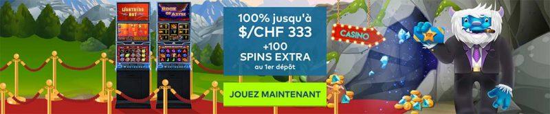 Bonus Yeti Casino