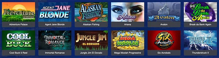 Jeux All Slots Casino
