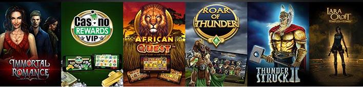 Jeux Aztec Riches Casino