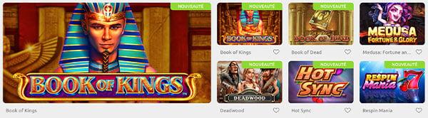 Jeux Cadoola Casino