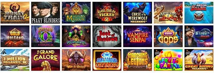 Jeux Evolve Casino