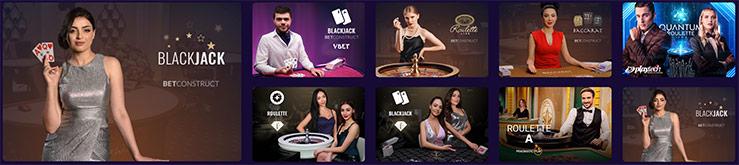 Les jeux de Vbet Casino
