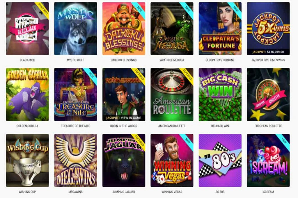 different games at share casino