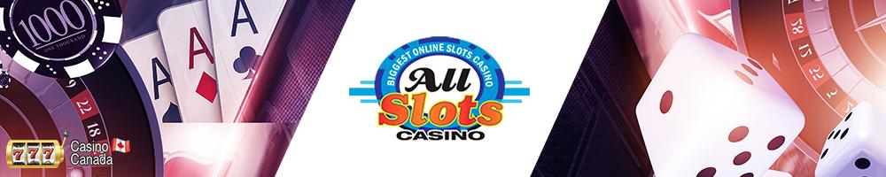 bannière all slots casino
