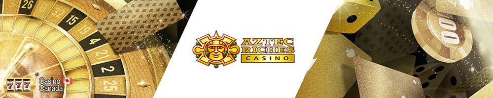 bannière aztec riches casino
