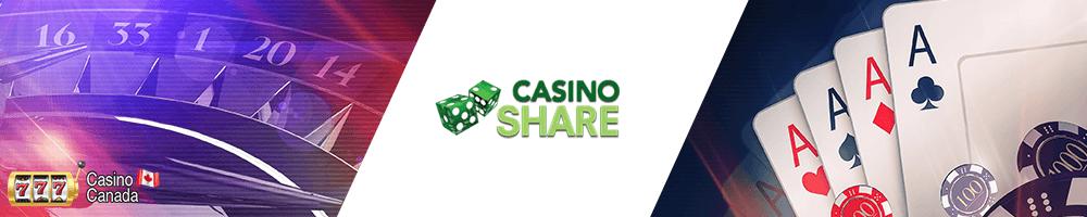 banner casino share