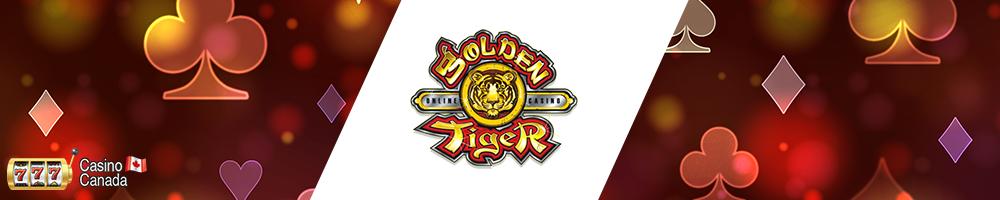 bannière golden tiger