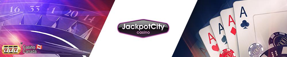 bannière jackpot city