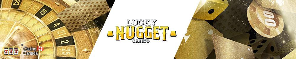bannière lucky nugget