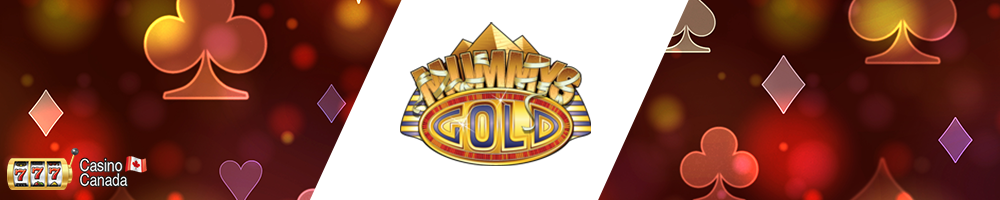 bannière mummy gold