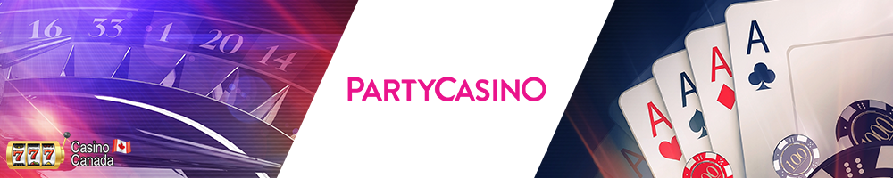 bannière party casino