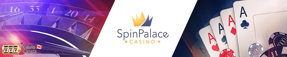 bannière spin palace