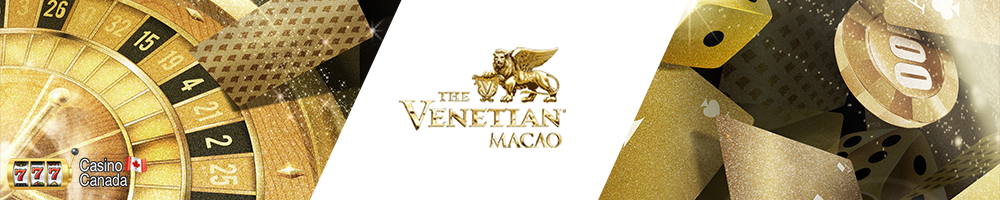 bannière venetian casino