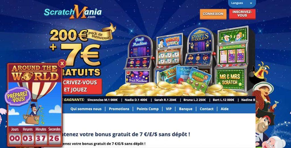 scratchmania casino online canada