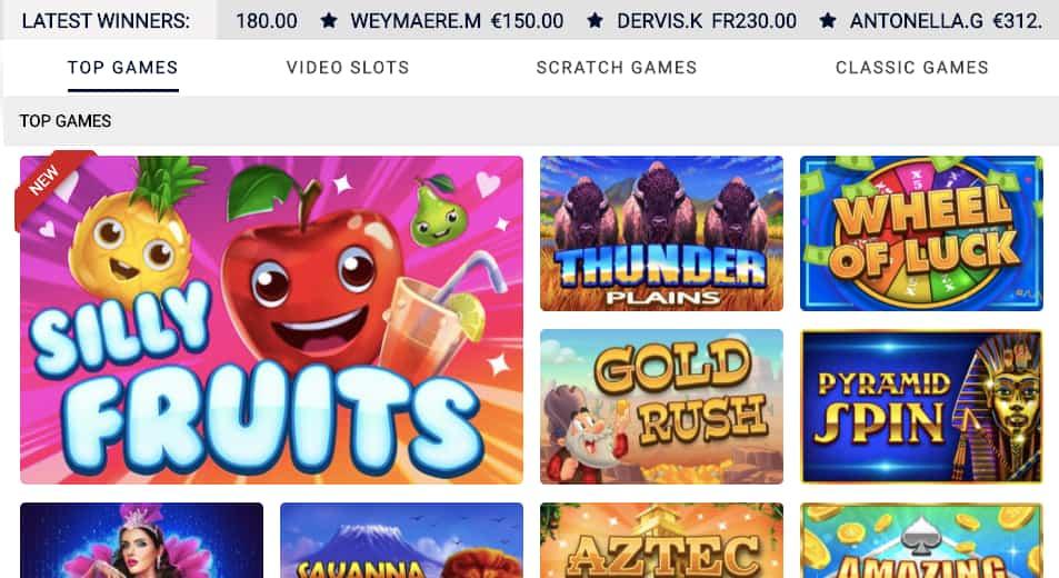 scratchmania top games casino canada