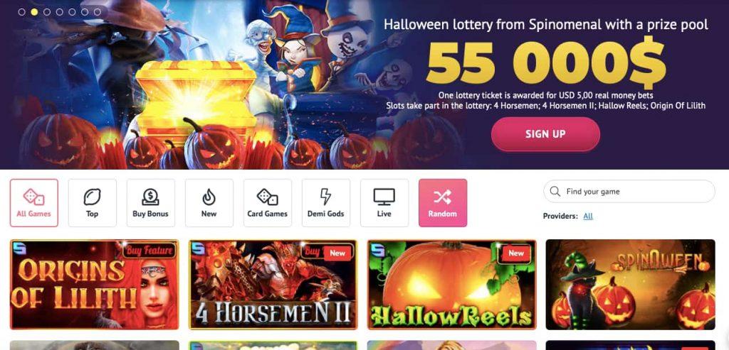 slotum casino online canada halloween
