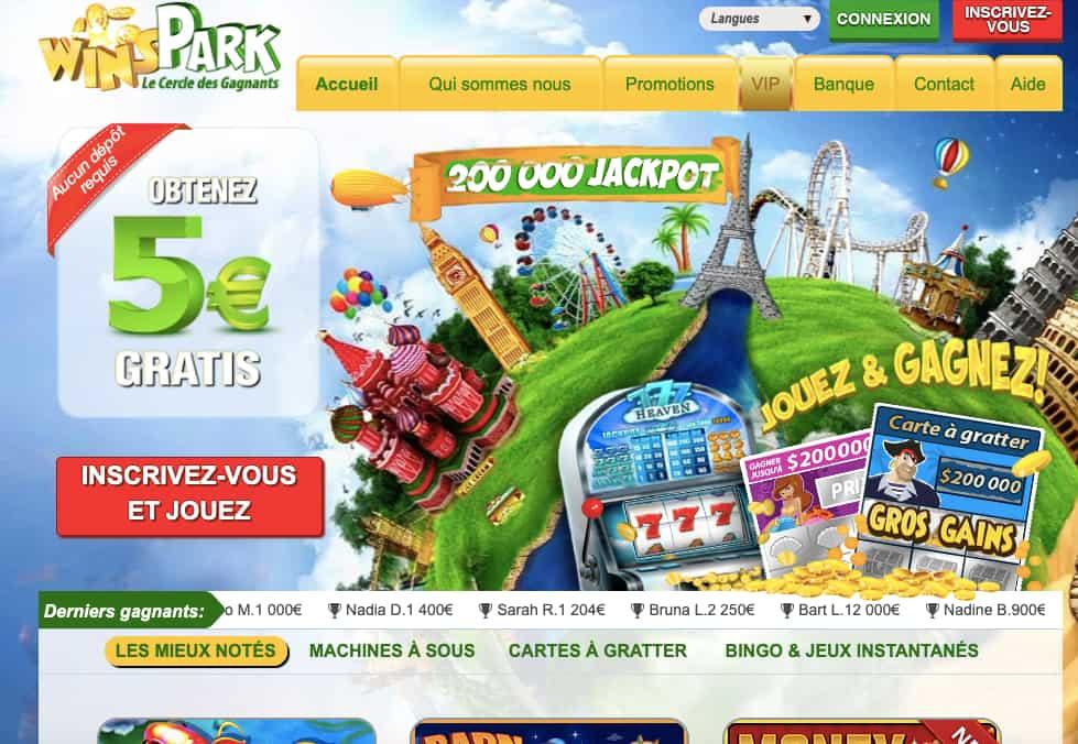 winspark casino online canada