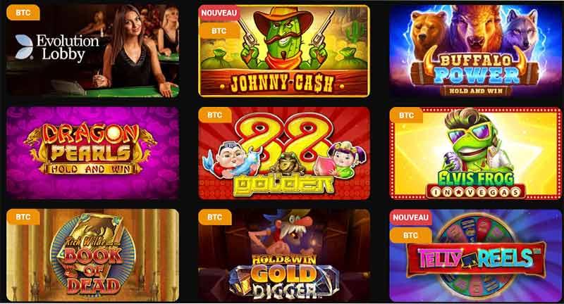 Jeux Betchan Casino