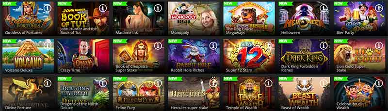 Jeux Regent Casino