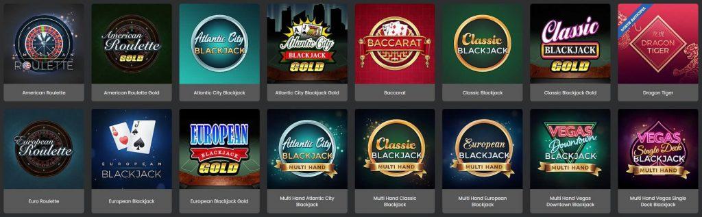 grand mondial casino jeux de tables