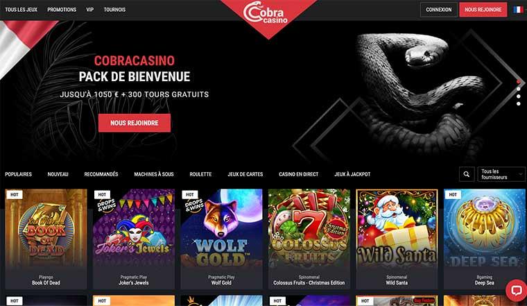 Avis Casino Cobra