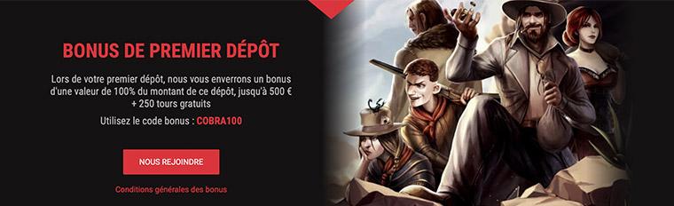 Bonus Cobra Casino
