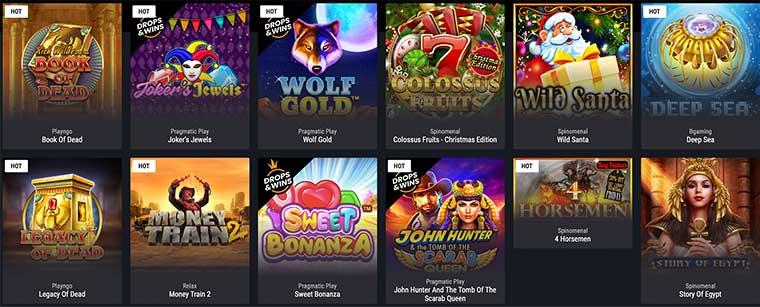 Jeux Cobra Casino