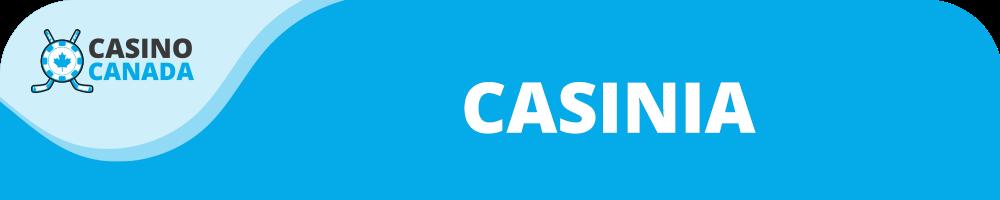 casinia banner