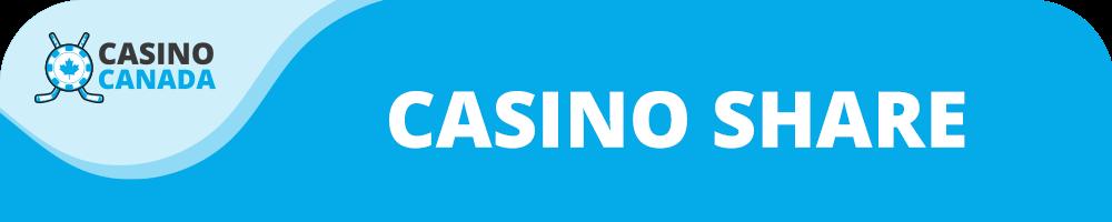 casino share banner
