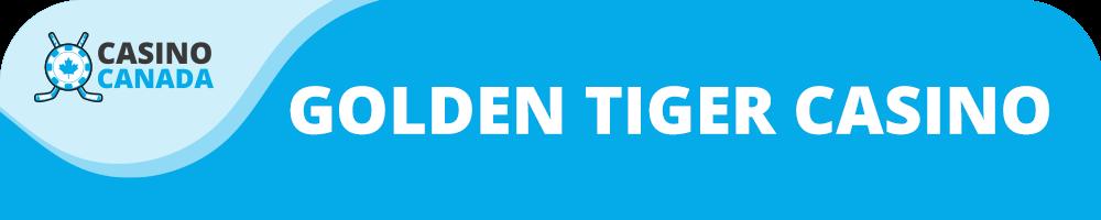 golden tiger banner