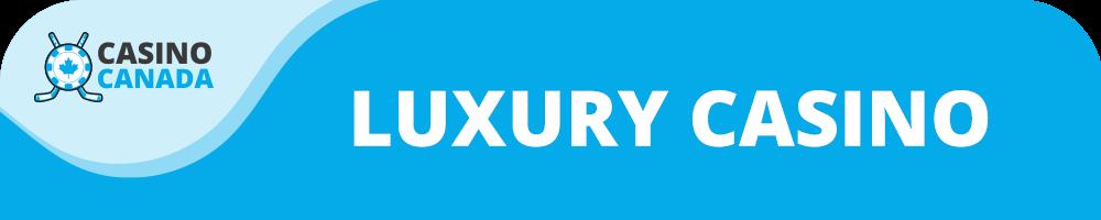 luxury casino banner