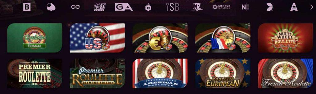 casinonic casino jeux roulette