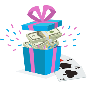 a gift full of money from casinos