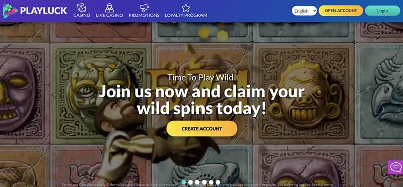 playluck interface screenshot