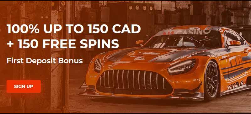 screenshot n1 casino bonus